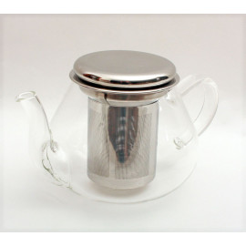 Teiera in vetro 700ml filtro acciaio
