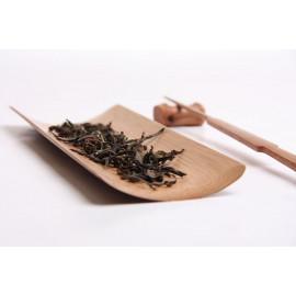Display tea leaves in bamboo
