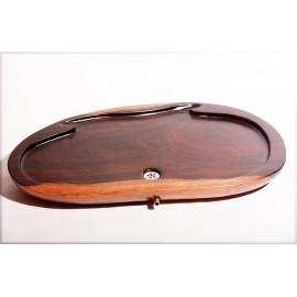 Tavolino da Tè in legno massello sagomato