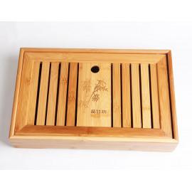 Tavolino in bambu 27 X 18,5 X 6,5 CM