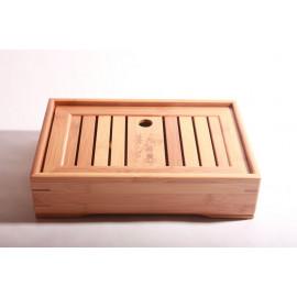 Bamboo Tea Table 27X18.5X6.3cm