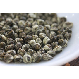 """Jasmine Dragon Pearls"" - Jasmine Green Tea Pearls"