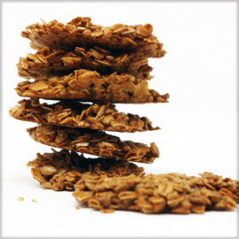 Oat Flakes Cookies with Sunflower Seeds