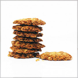 Oat Flakes Cookies with Coconut Shreds - Without Flour