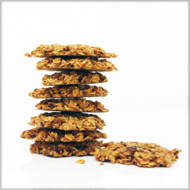 Oat Flakes Cookies with Figs - Without flour