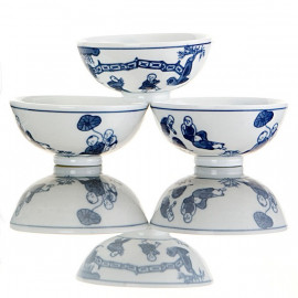 """Chinese""- 6 Teaups Set"