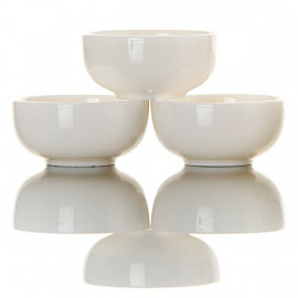 """Bianco""- 6 Teacups Set"