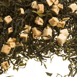 Papaya Fruity Loose Leaf Green Tea