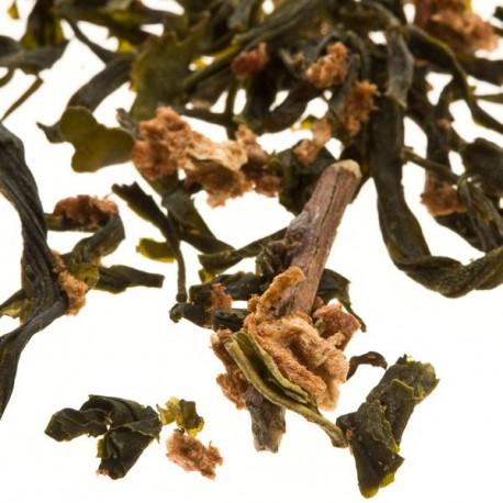Tè verde alla fragola