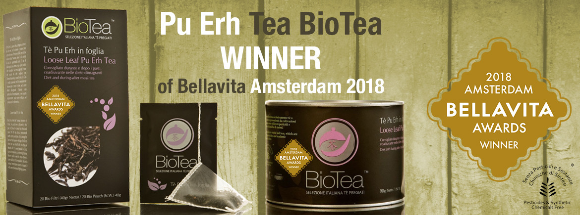 PUERH TEA WINNER OF BELLAVITA AMSTERDAM 2018